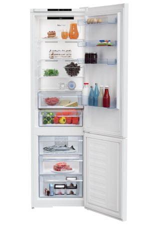 Beko RCNA406I30W, kombinirani hladilnik