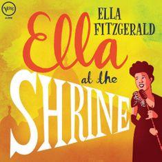 Fitzgerald Ella: Ella at the Shrine - LP