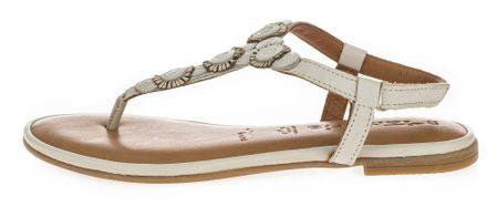 Tamaris dámské sandály 40 smotanová