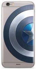 MARVEL Captain America 006 Zadný Kryt pre iPhone 5/5S/SE Transparent MPCCAPAM2147