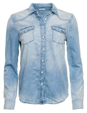 Mustang női ing 38 kék