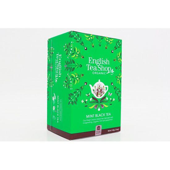 English Tea Shop Máta a černý čaj 20 sáčků