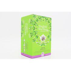 English Tea Shop Zelený čaj s jasmínem a bezinkou 20 sáčků