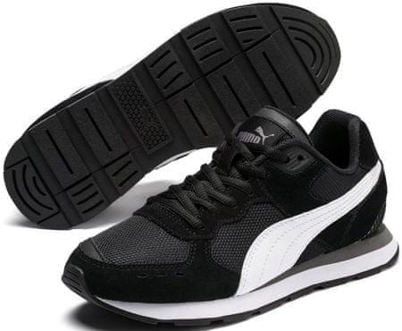 Puma Vista Jr Black-White, 35,5