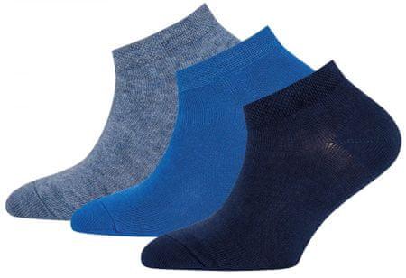 EWERS dekliški komplet treh parov nogavic, 35 - 38, modri