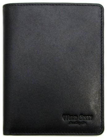Wildskin Pánská kožená peněženka, svislá - AVM18