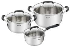 Tefal Sada nádobí 6 ks Cook&Cool E493S674