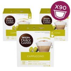 NESCAFÉ Dolce Gusto Cappuccino kava 349,5g (30 kapsul), trojno pakiranje