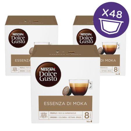 NESCAFÉ Dolce Gusto kapsule kave Essenza di Moka, 3 paketa
