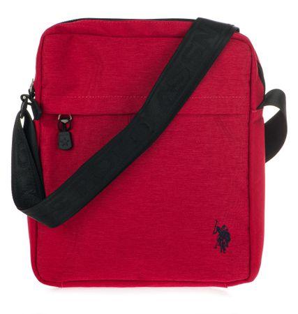 U.S. POLO ASSN. torba unisex Knock in Medium Crossbody czerwona