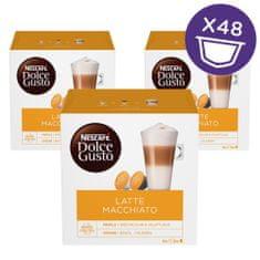 NESCAFÉ Dolce Gusto Latte Macchiato kava 194,4 g (16 kapsul), trojno pakiranje