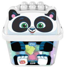 MEGA BLOKS Doboz kockákkal Panda