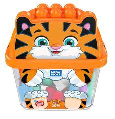 MEGA BLOKS Doboz kockákkal Tigris