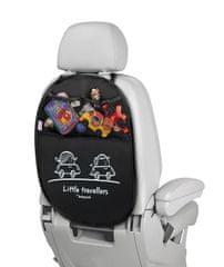 More Babypack Organizator in zaščita avtomobilskih sedežev, črn