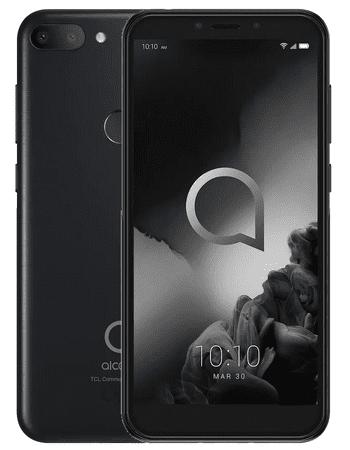 Alcatel smartfon 1S, 4GB/64GB, Metallic Black (5024F)