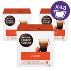 NESCAFÉ Dolce Gusto Lungo kava 112g (16 kapsul), trojno pakiranje