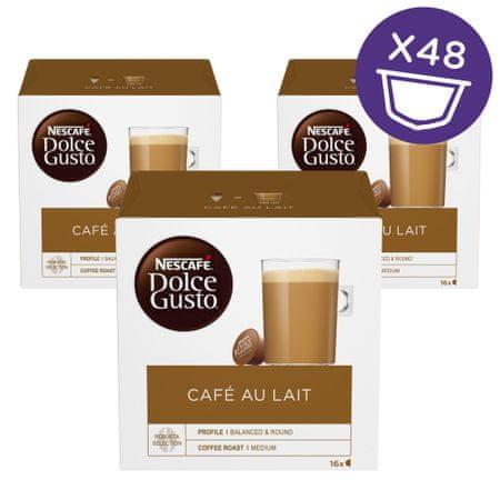 NESCAFÉ kapsule Dolce Gusto Cafe Aulait, trostruko pakiranje