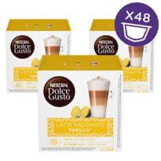 NESCAFÉ Dolce Gusto Latte Macchiato kava aroma Vanilije 188g (16 kapsul), trojno pakiranje