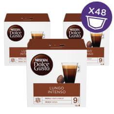 NESCAFÉ Dolce Gusto Lungo Intenso kava 144g (16 kapsul), trojno pakiranje