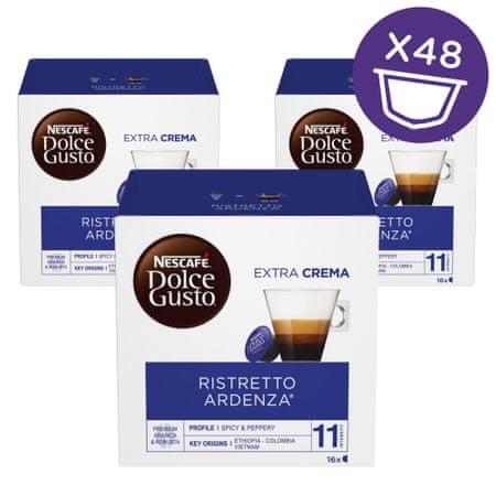 NESCAFÉ Dolce Gusto Ristretto Ardenza kava 112g (16 kapsul), trojno pakiranje