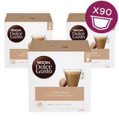 NESCAFÉ Dolce Gusto Cortado kava (30 kapsul), trojno pakiranje XXL