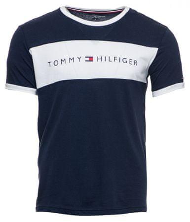 Tommy Hilfiger pánske tričko UM0UM01170 XL tmavomodrá
