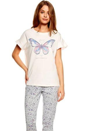 Henderson Női pizsama 36813 Twinkle Lon pink, rózsaszín, S