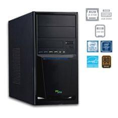 PCplus namizni računalnik e-office i3-8100/4GB/SSD240GB/FreeDOS (137583)