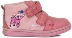 Ponte 20 dívčí kožené boty