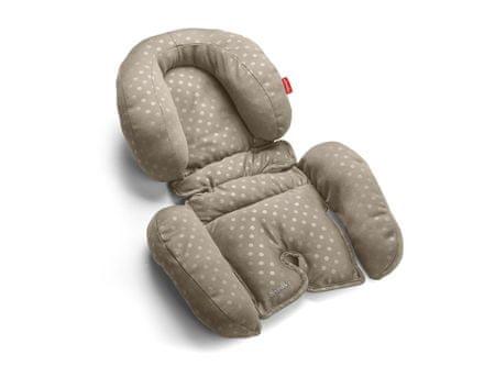 More Babypack Poduszka do fotelika samochodowego lub wózka dziecięcego, beżowa