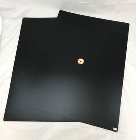 Nobo črna podlaga za pisanje s kredo, 841 x 594 mm