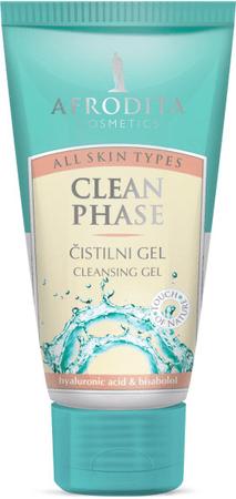 Kozmetika Afrodita gel za čiščenje Clean Phase, 150ml