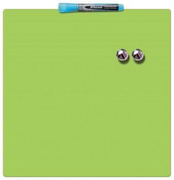 Nobo tabla magnetna quarter 36 x 36 cm, zelena