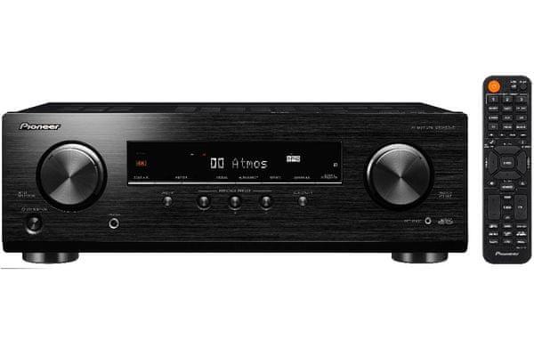 av receiver pioneer vsx-534-d Bluetooth technologie verze 4.2 dam fm am radio časovač vypnutí funkce vylepšení dialogu mcacc