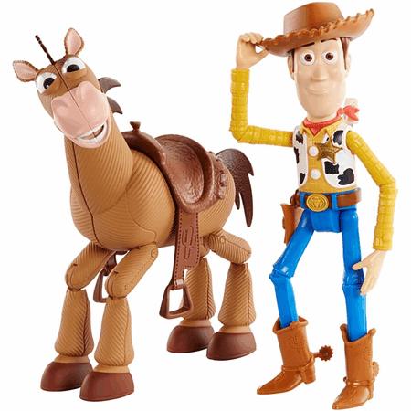 Mattel Toy Story 4: Příběh hraček Woody a Bulík