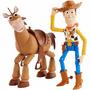 1 - Mattel Toy Story 4: Příběh hraček Woody a Bulík