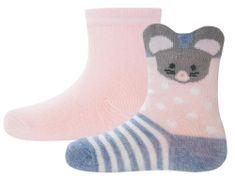 EWERS dievčenský set dvoch párov ponožiek