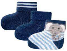EWERS dievčenská sada troch párov ponožiek