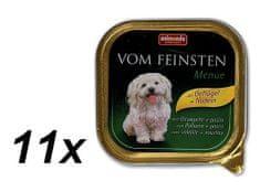 Animonda mokra hrana za pse Vom Feinstein, perad + tjestenina, 11 x 150 g