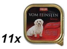 Animonda mokra karma dla psa VomFeinstein Senior - wołowina + drób - 11x150