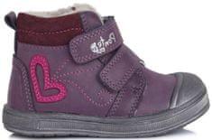 Ponte 20 dievčenské zimné topánky