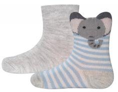 EWERS detská sada dvoch párov ponožiek