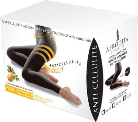 Kozmetika Afrodita masažne hlačne nogavice Anticellulite, št. 42-46