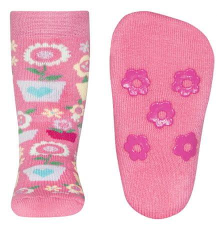 EWERS skarpetki antypoślizgowe dziewczęce 18-19 różowe