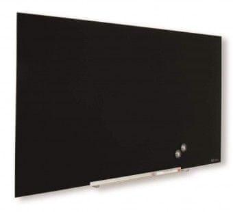 Nobo tabla steklena diamond 99,3x55,9cm, črna