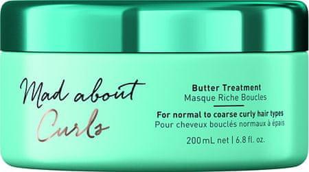 Schwarzkopf Prof. Intenzív maszk göndör haj Mad About Curl s (Butter Treatment) 200 ml