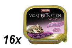 Animonda mokra karma dla kociąt Vom Feinstein Baby - Pate - 16x100g