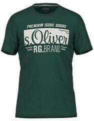s.Oliver Pánské triko 13.906.32.5206.7897 Green