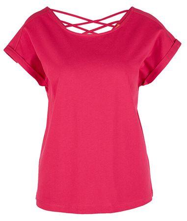 s.Oliver Női póló 14.906.32.7970.4565 Dark Pink (méret 34)