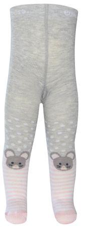 EWERS čarape za djevojčice, 56, siva